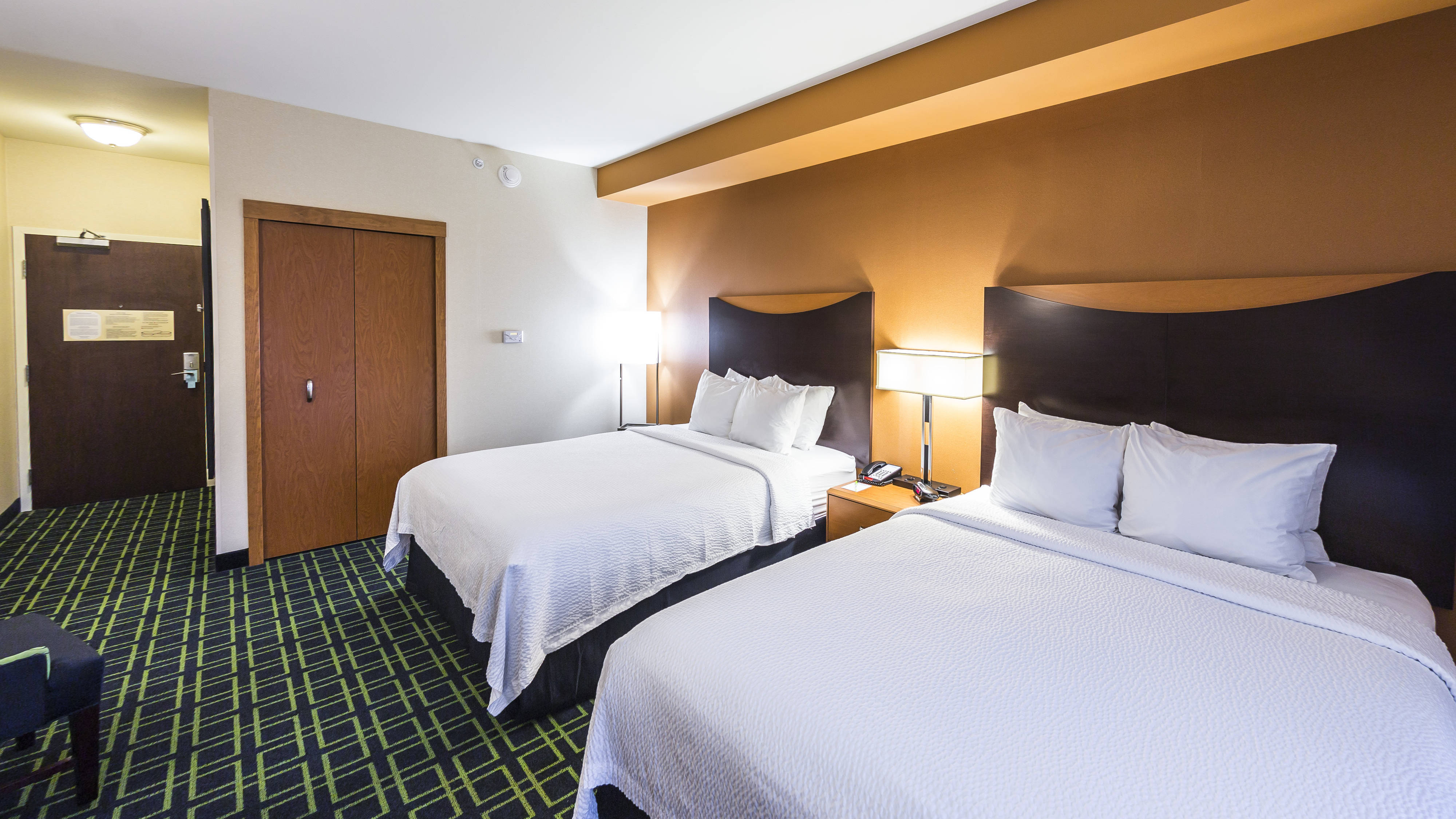 Fairfield Inn & Suites New Cumberland Hotel Room